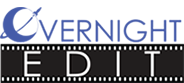 Overnight video editing services